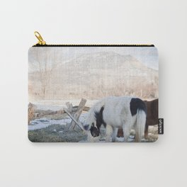 mini horses and a view Carry-All Pouch