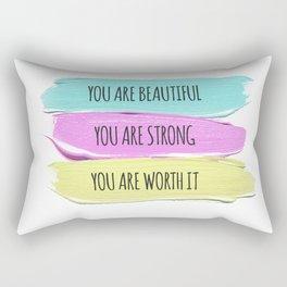 Self Worth Love Rectangular Pillow