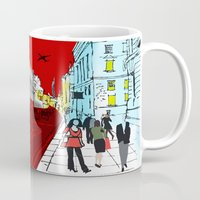 general Mugs featuring General Public by bivisual