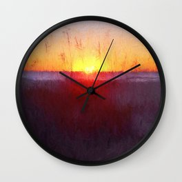 Florida Beach Scene #1 Wall Clock