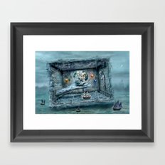 Save our World 20  Framed Art Print