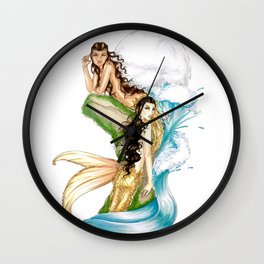 Melody Under Moon Wall Clock