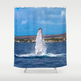 Peck Slap Shower Curtain