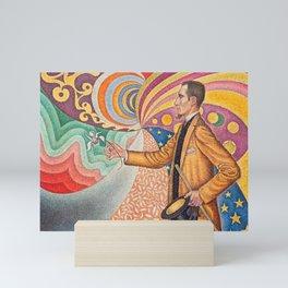"""Paul Signac """"Portrait de Félix Fénéon"""" Mini Art Print"""