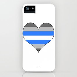 Demiboy Heart iPhone Case