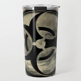 Toxic Biosphere - Vintage sepia vesion Travel Mug
