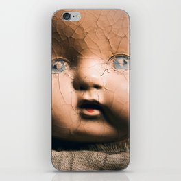 Creepy Doll iPhone Skin