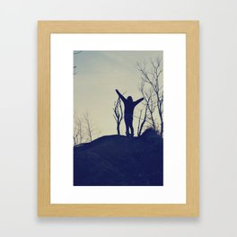 Free Yourself Framed Art Print