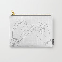 Tied Up Carry-All Pouch
