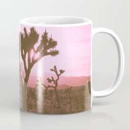 Rosy Haze In Joshua Tree Coffee Mug