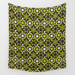 Al-Nasir - Yellow and Grey Wall Tapestry