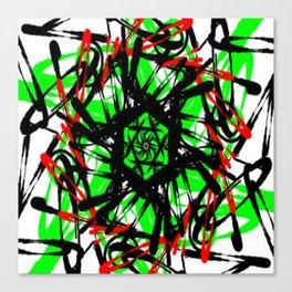 Cartwheel Chaos Canvas Print