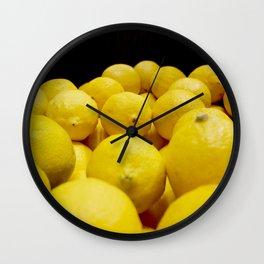 Lemons! Wall Clock