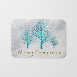 The Day of Christmas Bath Mat