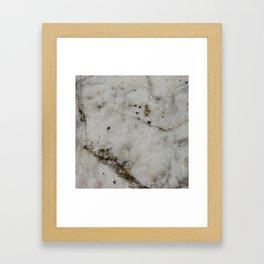 alabaster Framed Art Print
