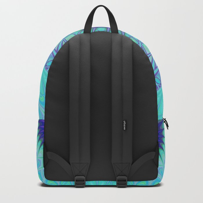 Frozen mandala Backpack