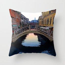 Venice, Italy Morning Throw Pillow
