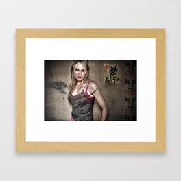 Jewel Framed Art Print