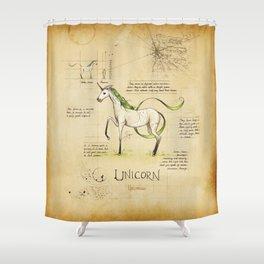 The Unicorn Shower Curtain