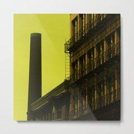 Old factory, Lowell Metal Print