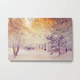 Snow Dream Metal Print