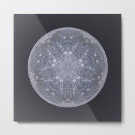 Snow Moon Metal Print