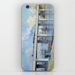 Claude Monet - Railway Bridge iPhone Skin