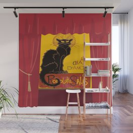 Le Chat Noir DAmour Theatre Stage Wall Mural