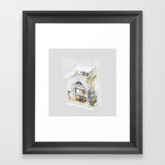Birmingham/Toronto 1/2 Framed Art Print