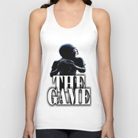 football Tank Tops featuring FOOTBALL  by Robleedesigns