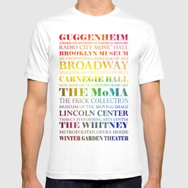 New York City - arts in color T-shirt