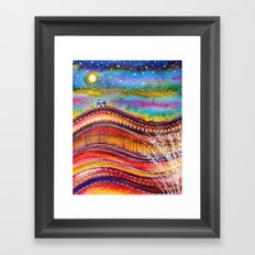 Russet Hills Framed Art Print