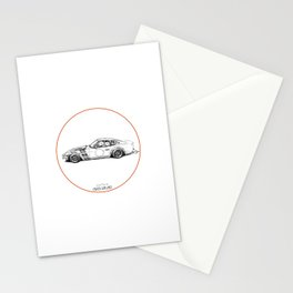 Crazy Car Art 0001 Stationery Cards