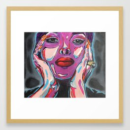 Pure Electricity Framed Art Print