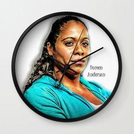 Doreen Wall Clock