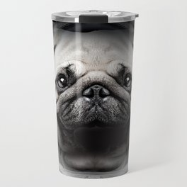 Puggly Pawstrong Astro Dog Travel Mug