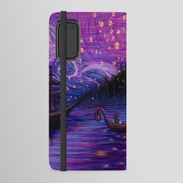 The Lantern Scene Android Wallet Case