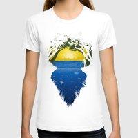 brasil T-shirts featuring Brasil by Yuri Lobo