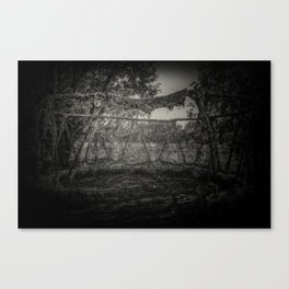 The Witch Circle Canvas Print