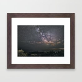 Milkyway at Loblolly Cove Framed Art Print