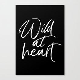 Wild At Heart V2 Canvas Print