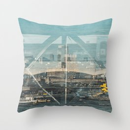 Layers of London 1 Throw Pillow