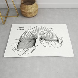 Use of Toy Slinky Rug