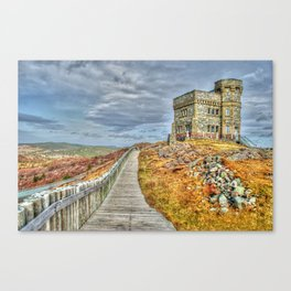 Cabot tower Canvas Print