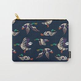 Male Mallard ducks Carry-All Pouch