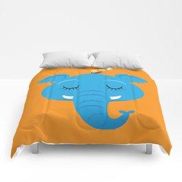 Sleepy Elephant Comforters