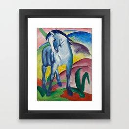 Marc, Franz - Blue Horse I Framed Art Print