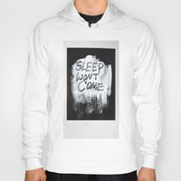sleep Hoodies featuring Sleep by Whatever Mom