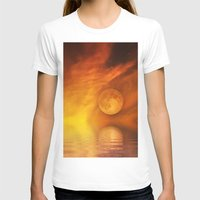 skyfall T-shirts featuring skyfall by LuMixaArt