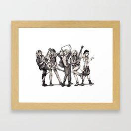 Pearl Jem Framed Art Print